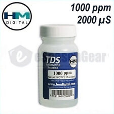 HM Digital 1000 ppm (2000 µS) Calibration Solution, 90ml, for TDS / EC Meter