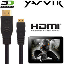 Yarvik GoTab, Xenta, Luna, TAB310, 7, 8 Android Tablet PC HDMI Mini TV 5m Cable