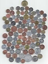 99 DIFFERENT COINS..99 DIFFERENT COUNTRIES..MOST UNCIRCULATED