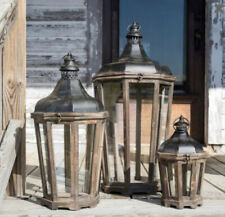 Park Hill Collection Hillcrest Lanterns Pottery Barn Style Parkhill Set Of 3