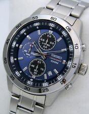 "Seiko - Chronograph ""Blue Dial"" 100M"