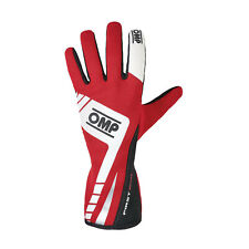OMP FIRST EVO MY16 Racing Gloves Red (homologation FIA) s. L