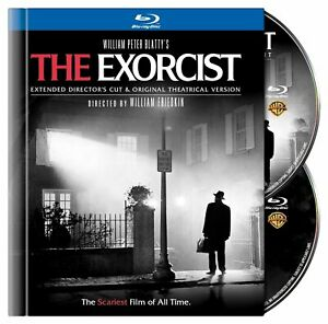 THE EXORCIST Blu-ray 38-Page Digibook Theatrical+Extended Director's Cut NEW