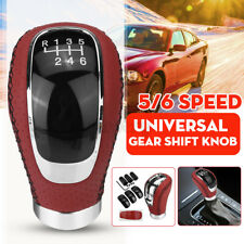 5/6 Speed Universal Manual Car Gear Shift Knob Shifter Lever Stick Replacement