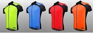 Funkier Men's Cycling MTB J-730-5K S.S Jersey Waterproof Smartphone pocket
