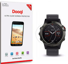 6X Dooqi Hd Clear Full Coverage Lcd Screen Protector For Garmin Fenix 5s