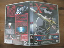 X (DVD, 2001) Region 4 Action Adventure Animation DVD Rated MA Used in VGC