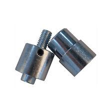 2 PCS  4#(10mm) Grommet Eyelet Die Set for Hand Press Grommet Punch Machine Tool