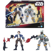 Hero Mashers Star Wars Han Solo Vs Boba Fett Toy Action Figures