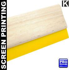 Screen Printing Squeegee Vulkollan 9mm X 50mm Hd Wooden Handle Silk Blade Fabric