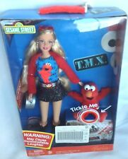 2006 SESAME STREET TICKLE ME ELMO BARBIE DOLL - NEW IN SEALED BOX
