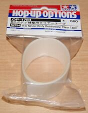 Tamiya 54784 R/C Model Body Reinforcing Tape Clear, NIP