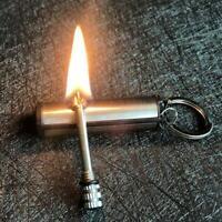 Feuer Starter Match Feuerzeug Camping Notfallausrüstung Survival Supp Q1N6