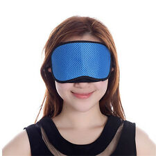 Bamboo Charcoal Sleeping Eye Mask  Blindfold Shade Sleep Rest Aid Cover Care TC