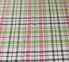 Pottery Barn Teen Duvet Bedding Pink White Green Black Twin Size