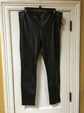 GAP Faux Leather Black Leggings Pants Size 10/12