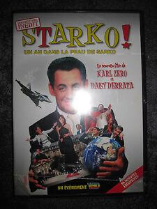 DVD starko ! UN AN DANS LA PEAU DE SARKO 96 MINUTES EXCLUSIVES