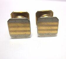 Vintage Pair of Art Deco Snap Cufflinks Park Roger Jiffy Pat June 11 1920