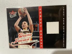2004 Ultra WNBA Diani Taurasi Season Crowns Rookie Jersey RC