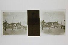 Vienne Wien Autriche Austria Plaque stereo Vintage ca 1920