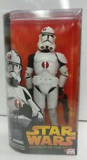 "Star Wars Revenge of the Sith Clone Trooper 12"" Figure by Hasbro, 2005"