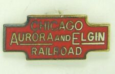 Railroad Hat-Lapel Pin/Tac -Chicago Aurora & Elgin  (CA&E) #1662-NEW