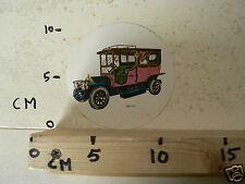 STICKER,DECAL MERCEDES BENZ 1911 OLDTIMER VINTAGE CAR NOT 100 % OK