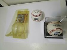 Jose Fernandez 2 MARLINS BASEBALLS - ? SIGNED INAUGURAL or printed  WORLD SERIES