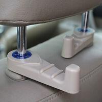 2X Car Seat Truck Coat Hook Purse Bag Hanging Hanger Auto Bag Organizer Holder A