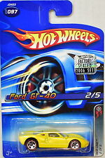 HOT WHEELS 2006 RED LINE FORD GT-40 #097 FACTORY SEALED