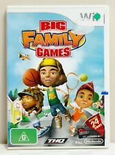 Big Family Games (Wii Video Game)