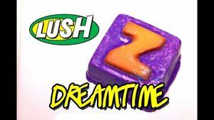 Lush Cosmetics UK Kitchen VERY RARE - DREAMTIME Bath Melt DISCONTINUED lavender