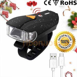 Handlebar Lights Bike Front Head Light Flashlight Road Mountain Smart Sensor
