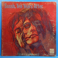 TEN YEARS AFTER SSSSH LP 1969 ORIGINAL PRESS ALVIN LEE PLAYS GREAT! VG+/VG!!C