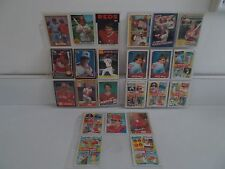 PETE ROSE COLLECTION OF BASEBALL CARDS