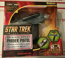 Star Trek Art Asylum / Diamond Select Black Handle Phaser Toy Prop Pistol