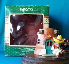 Enesco Ornament 1989 Feliz Navidad 1st  Home For The Holidays Series Mice Mouse