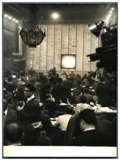 Paris, Elections législatives 1958, ministère de l'Intérieur  Vintage silve