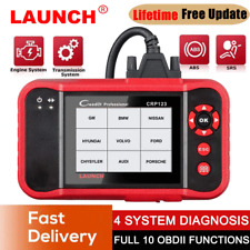 LAUNCH X431 CRP123 Car OBD2 Scanner Engine Transmission ABS SRS Diagnostic Tool