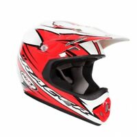 Youth Small RXT Racer 2 Red Helmet MX Motorbike Motocross Girls Kids