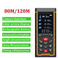 Laser Distance Meter 80M with camera Laser Rangefinder Range Finder Area/volume