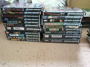 Over 20x Sega Saturn Games, From £4.89 Each With Free Postage, Trusted Ebay Shop