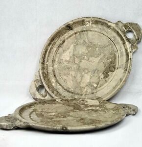 Set of 2 Marble  Serving Trays / Plates.
