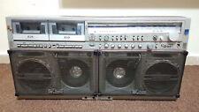 Vintage Sharp GF 777 Z Gheto Blaster Boombox Cassette Radio