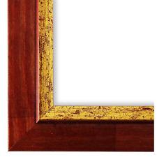 Bilderrahmen Rahmen Rot Gold Vintage Antik Catanzaro 3,9 - NEU