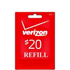 Verizon Phone Cards & Data Cards