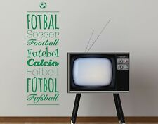 Soccer International - highest quality wall decal stickers