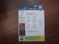 Ipswich Town Championship Home Teams F-K Football Programmes