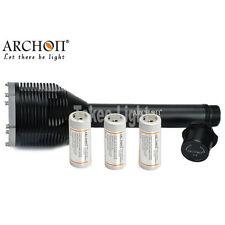 ARCHON D33 3x Cree XM-L2 U2 3000lm 3x 26650 LED Flashlight+Charger+3x 26650