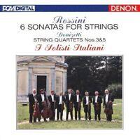 I SOLISTI ITALIANI-ROSSINI: SONATAS FOR STRINGS /...-JAPAN 2 BLU-SPEC CD D50